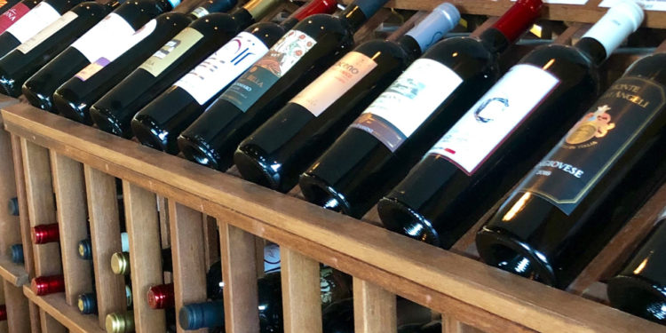 Sfizi offers a wide selection of Italian wines.